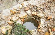 Apa sulfurosă și cea sărată au fost trimise la analiză