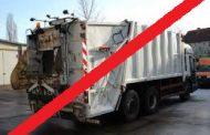 Serviciul de ridicare a deșeurilor SUSPENDAT