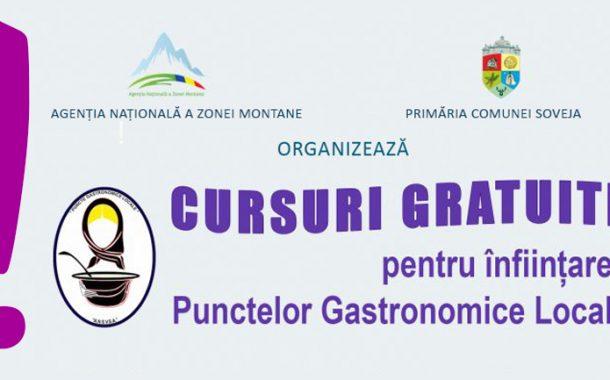 Încep cursurile PGL (puncte gastronomice locale)