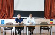 Vizita secretarului de stat Nicu Tănase la Soveja