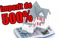 Impozite de 500% pentru clădirile și terenurile neîngrijite