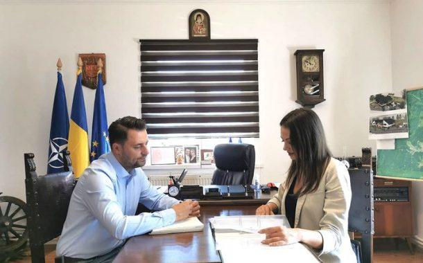 Vizita reprezentantului Ministerul Fondurilor Europene la Soveja